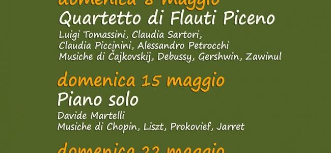 Maggio 2016: Musica da Bosco