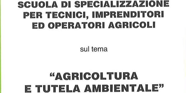 Scuola di specializzazione per tecnici, imprenditori ed operatori agricoli 2016/2017